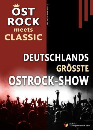Ostrock-meets-Classic-Broschüre
