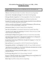 Alle Artikel der Regensburger RU-Notizen von 1/1982 – 2/2011 ...