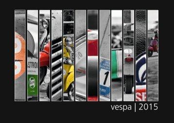 vespa | 2015 - Der Vespajahreskalender