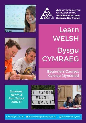 Learn WELSH Dysgu CYMRAEG
