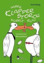 Unser Klapperstorch kugelt rum! (Leseprobe) - Edition Riedenburg