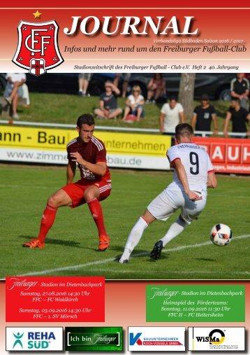 Heft 02 FFC - FC Waldkirch - 1. SV Mörsch