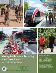 Moving Austin toward becoming a more multimodal city