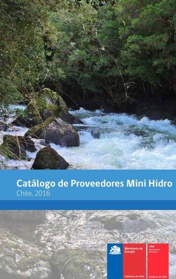 Catálogo de Proveedores Mini Hidro