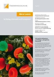 MEIN LABOR Ausgabe 4 - Endokrinologikum