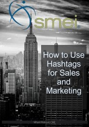 How to Use Hashtags for Sales and Marketing