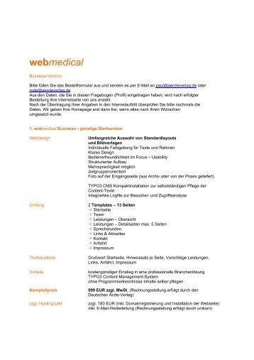 webmedical - Deutscher Ärzte-Verlag