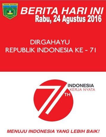 e-Kliping Rabu, 24 Agustus 2016
