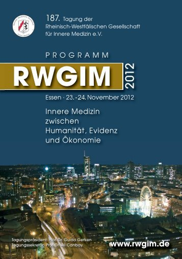 Programm RWGIM 2012:Layout 1 - KelCon GmbH
