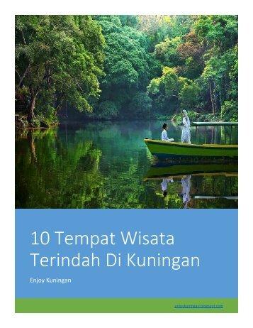 10 Tempat Wisata Terindah Di Kuningan