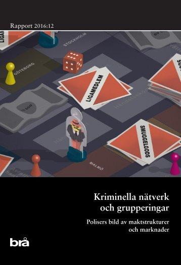 Kriminella nätverk och grupperingar
