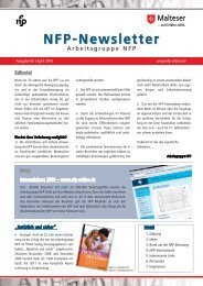NFP-Newsletter - Arbeitsgruppe NFP