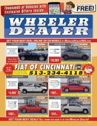 Wheeler Dealer Issue 35, 2016