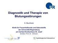 Diagnostik und Therapie von Blutungsstörungen