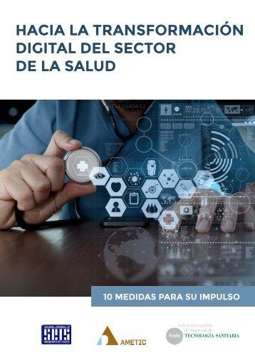 HACIA LA TRANSFORMACIÓN DIGITAL DEL SECTOR DE LA SALUD