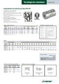 Tecnología de conexiones ZIMM | XIII - ES - Page 5