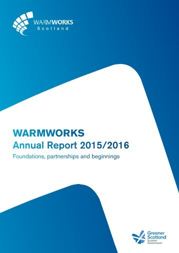 WARMWORKS Annual Report 2015/2016