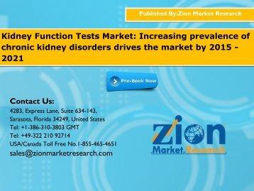 Kidney Function Tests Market