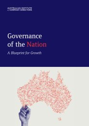 Governance of the Nation