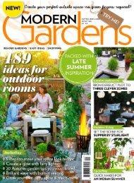 Modern Gardens Mini Magazine - September Issue