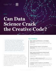 Can Data Science Crack the Creative Code?