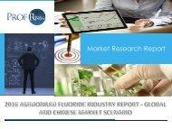 Ammonium Fluoride Industry, 2011-2021