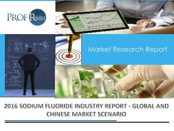 Sodium Fluoride Industry, 2011-2021 Market Research
