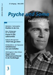 3 Psyche und Soma - Medical Tribune