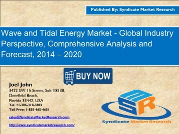 Wave and Tidal Energy Market1