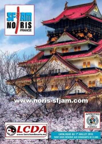 catalogue SFJAM NORIS 2016 - [www.lacroiseedesarts.net]