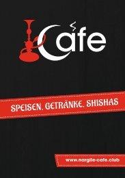 Nargile Cafe Speisekarte