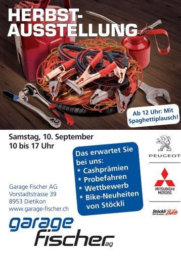 Einladung zur Herbstausstellung