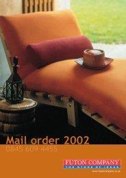 Futon Company Brochure