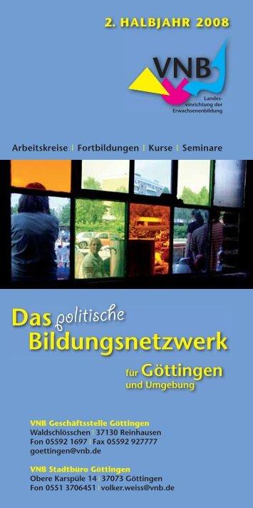 Der VNB Göttingen und seine Kooperations
