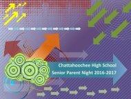 Senior Parent Night 2016-2017