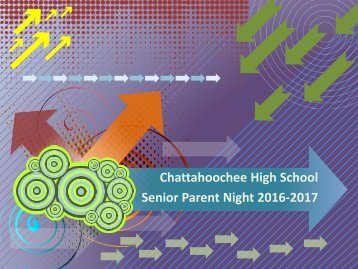 Senior Parent Night 2016-2017