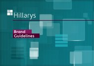Hillarys Brand Guidelines