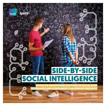 SIDE-BY-SIDE SOCIAL INTELLIGENCE
