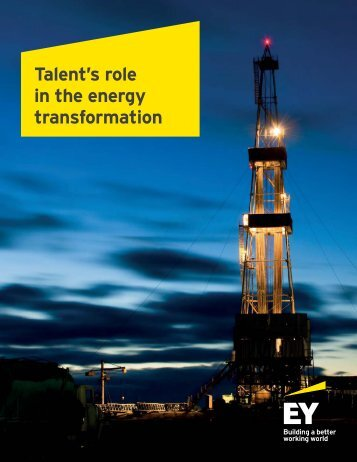 Talent's role in the energy transformation
