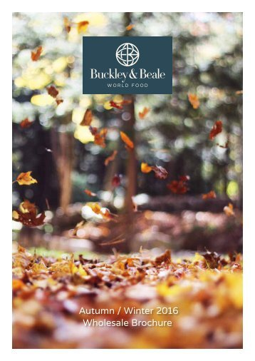 Buckley and Beale Autumn Winter 2016