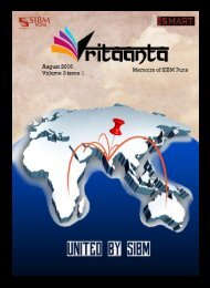Vritaanta Volume 3 Issue 1 August 2016