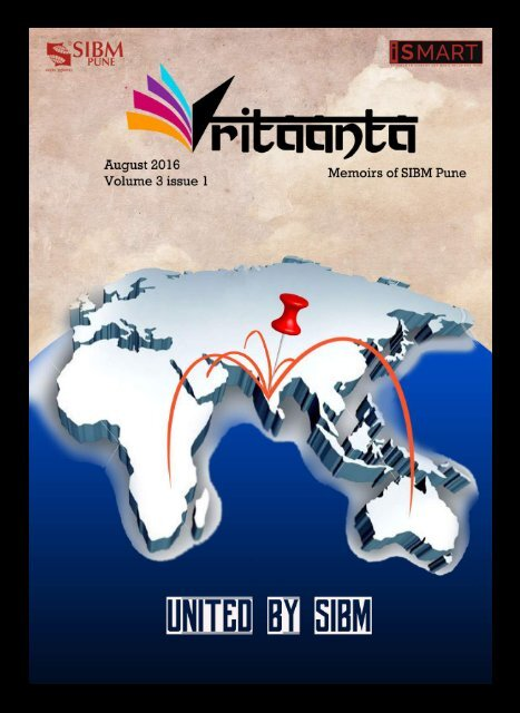 Vritaanta Volume 3 Issue 1 August 2016