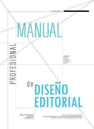 MANUAL Diseno Editorial