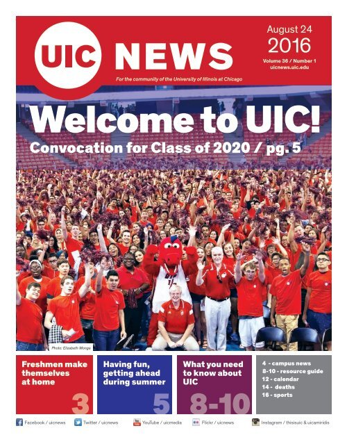 Uic Summer 2020.Welcome To Uic