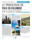 LE PROCESSUS DE PAIX EN COLOMBIE - Page 3