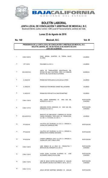 No. 140 22 AGOSTO 16