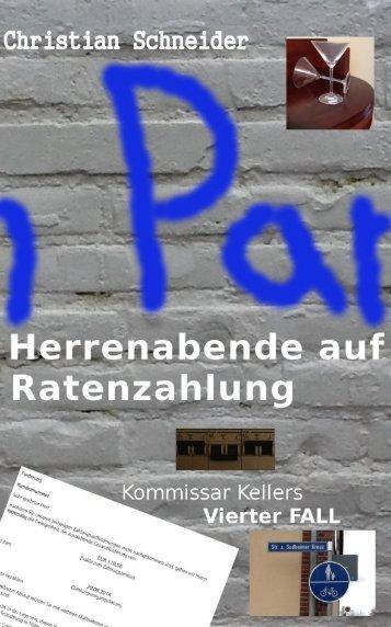 """Maxi-Leseprobe """"Herrenabende auf Ratenzahlung"""""""