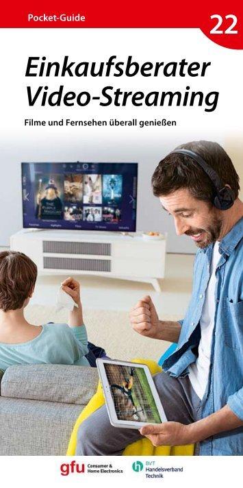 Einkaufsberater Video-Streaming