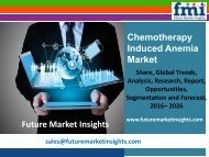 Chemotherapy Induced Anemia Market Forecast and Segments, 2016-2026