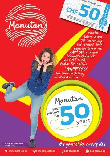 50 Jahre Manutan